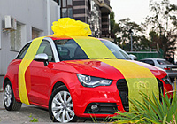 Audi A1 is raffled off