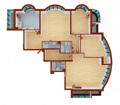 Four-room apartment. Section 8.